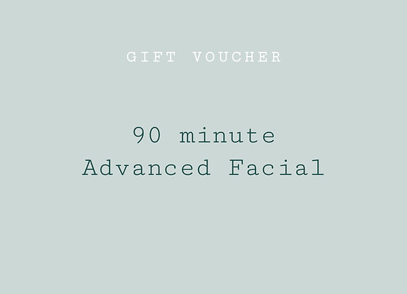 re:lax advanced facial - 90 min