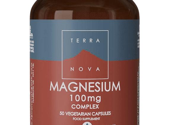Terranova Magnesium 100mg Complex 50s