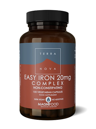 Terranova Easy Iron 20mg Complex 100s
