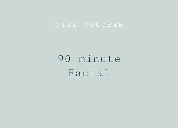 re:lax facial - 90 min