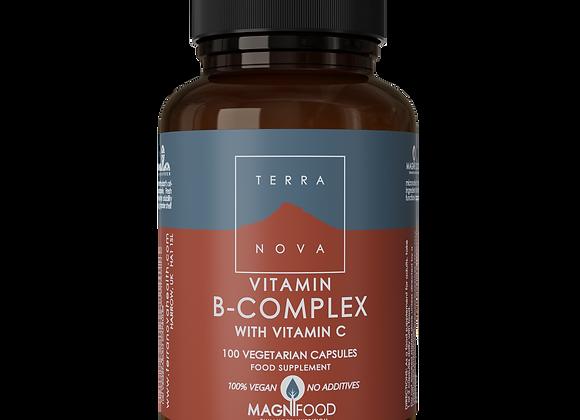 B-Complex w/Vitamin C 100's