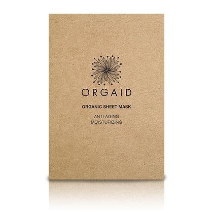 Orgaid Anti-Aging & Moisturising Organic Sheet Mask (x4)