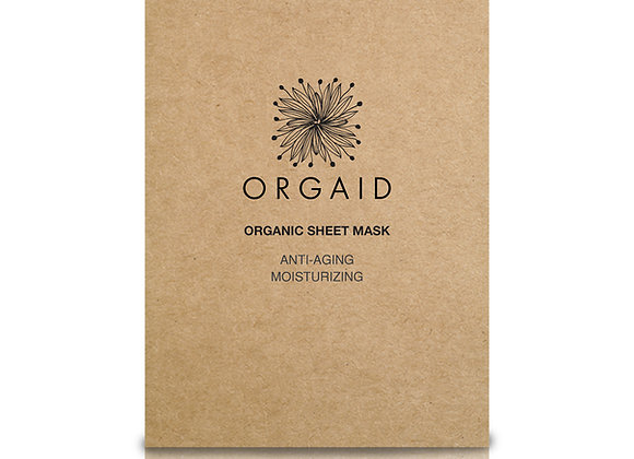 Orgaid Anti-Aging & Moisturising Organic Sheet Mask (x1)