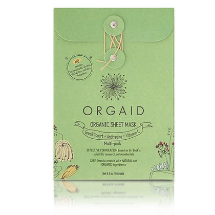 Orgaid Sheet Mask Multipack (x6)