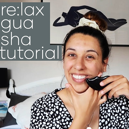 re:lax Gua Sha Tutorial