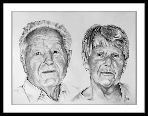 Potraitzeichnung Bleistift Portraitierung Daniel Regenfuß
