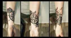 12 Kompass Rose