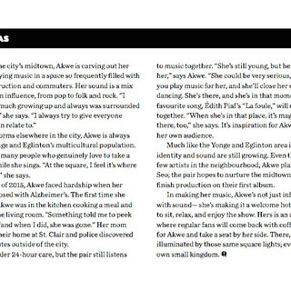 Press- Article in 'This' magazine