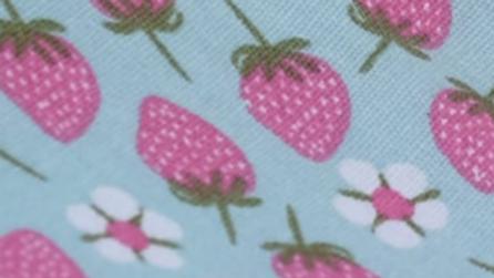 רפידות עגולת מודפסות- תותים