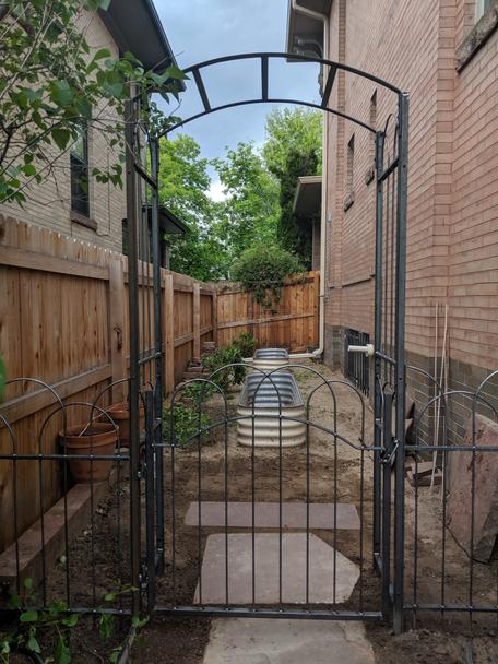 Arbor Trellis with Gate