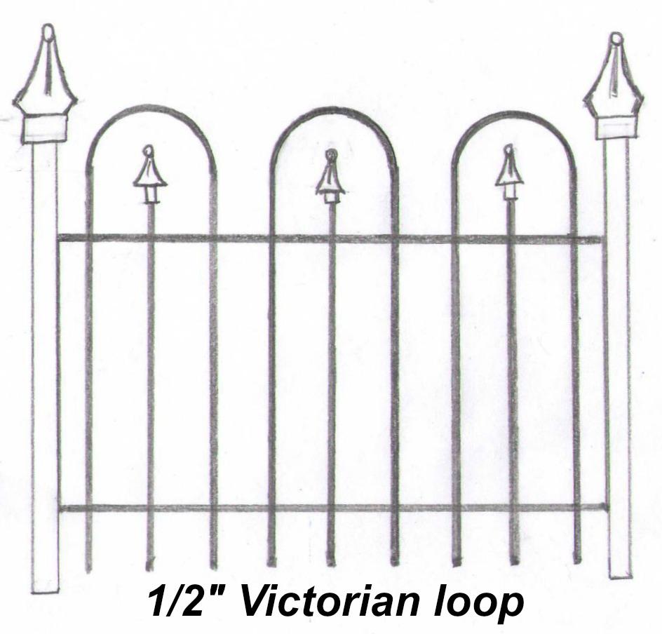 "1/2"" Victorian Loop"