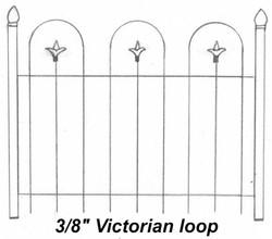 "3/8"" Victorian Loop"
