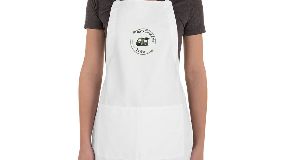 TCE Embroidered Apron