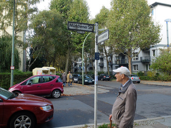 With my father back in Berlin, city of his birth