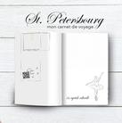 Carnet de voyage connecté pour l'amener à St. Petersbour