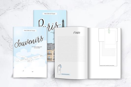 Carnet de voyage Paris Souvenirs