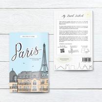 Carnet de voyage à Paris. Recto-Verso.