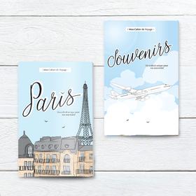 Nos carnets de voyage : Paris, Souvenirs