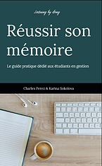 Learning by doing : réussir son mémoire