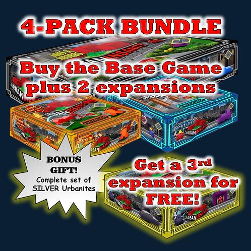 4-Pack Bundle - FREE Expansion!