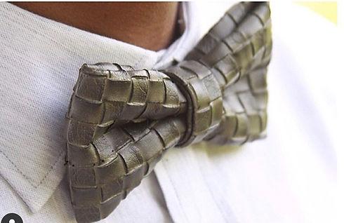 Fashion Cartel Bowties- Cubic Smoke Bowtie