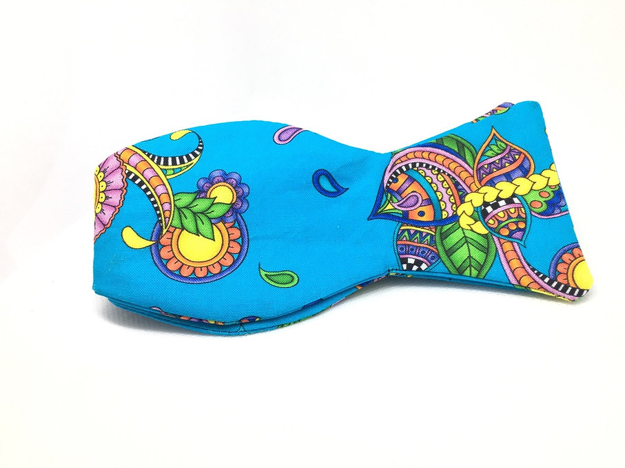 Fashion Cartel Bow Ties- blue bow tie
