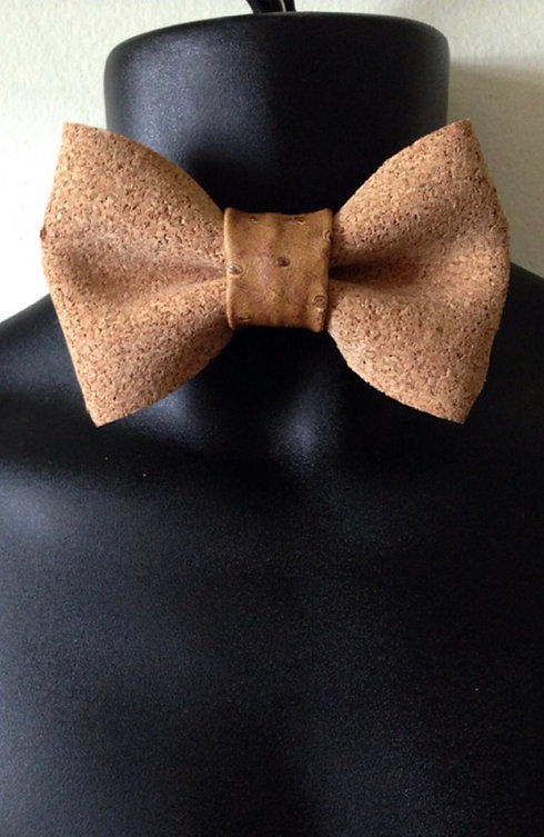 Fashion Cartel Bowties- Cork Bowtie