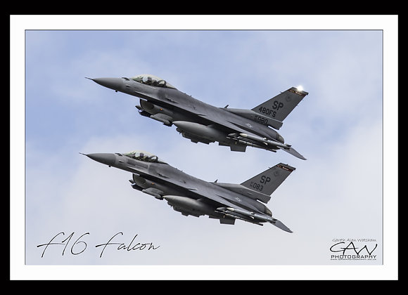 USAF F16 Fighting Falcon