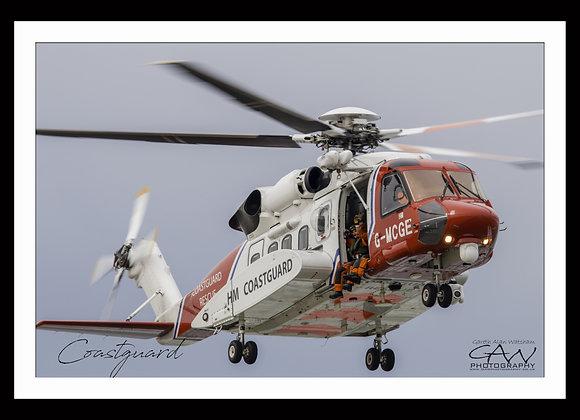 Sikorsky S92a - Coastguard