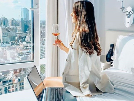 Hotels, the tempting and convenient option to Work From Home.