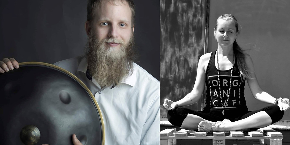 Meditativ Hang Koncert v/Benjamin & Elin