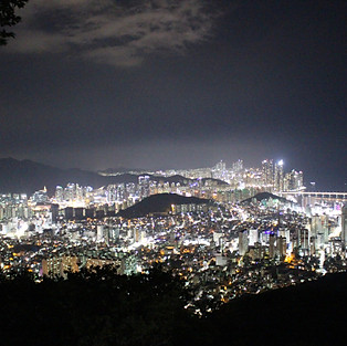 Night Tour - Mountain Hwangnyeongsan Observatory