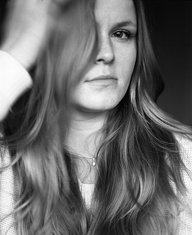 Self-portrait - B&W medium format