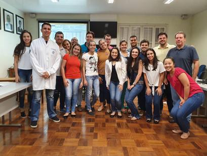 Disciplina de estatística para os alunos de pós-graduação da Faculdade de Odontologia de Araçatuba (UNESP) em Araçatuba-SP em 2019