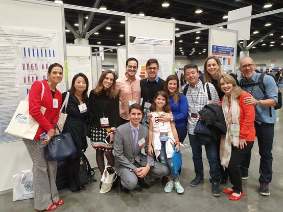 Congresso IADR (International Association for Dental Research Meeting) em Vancouver-Canadá em 2019