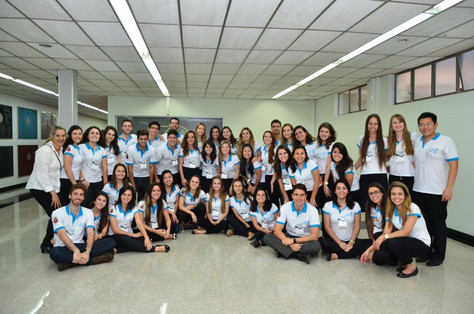 Comissão Organizadora do Congresso Odontológico de Bauru em 2015