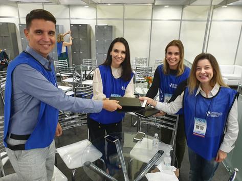 Avaliadores do encontro SBPqO (Sociedade Brasileira de Pesquisa Odontológica) em Campinas-SP, 2019