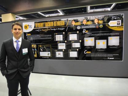 Apresentação de trabalho durante o IADR (International Association for Dental Research Meeting) em Seattle-EUA em 2013