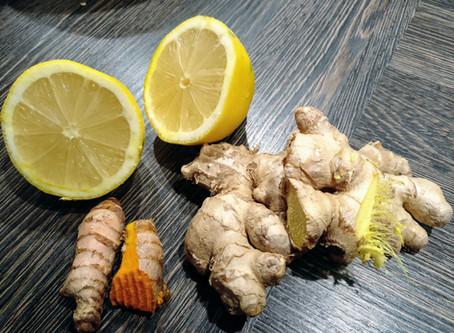 Ingwer-Kurkuma-Zitronen-Honig