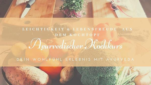 Ayurvedischer Kochkurs Ayur-happy