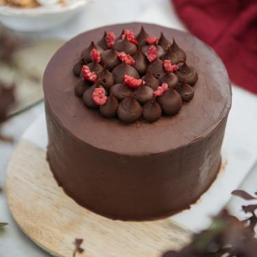 Torta Doble Chocolate Frambuesa