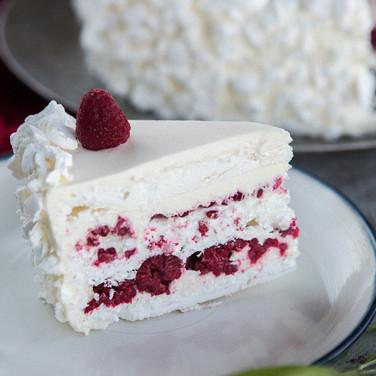 Torta Merengue Frambuesas