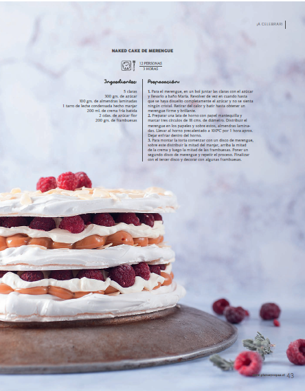 Naked Cake de Merengue
