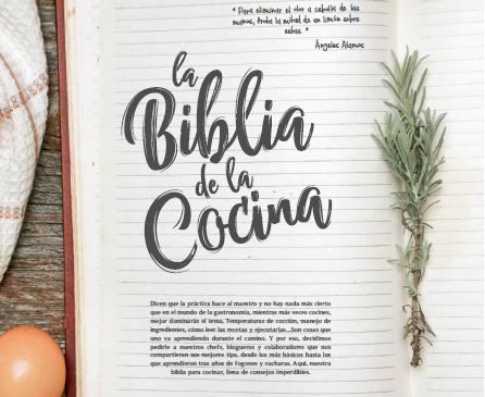 La biblia de la cocina