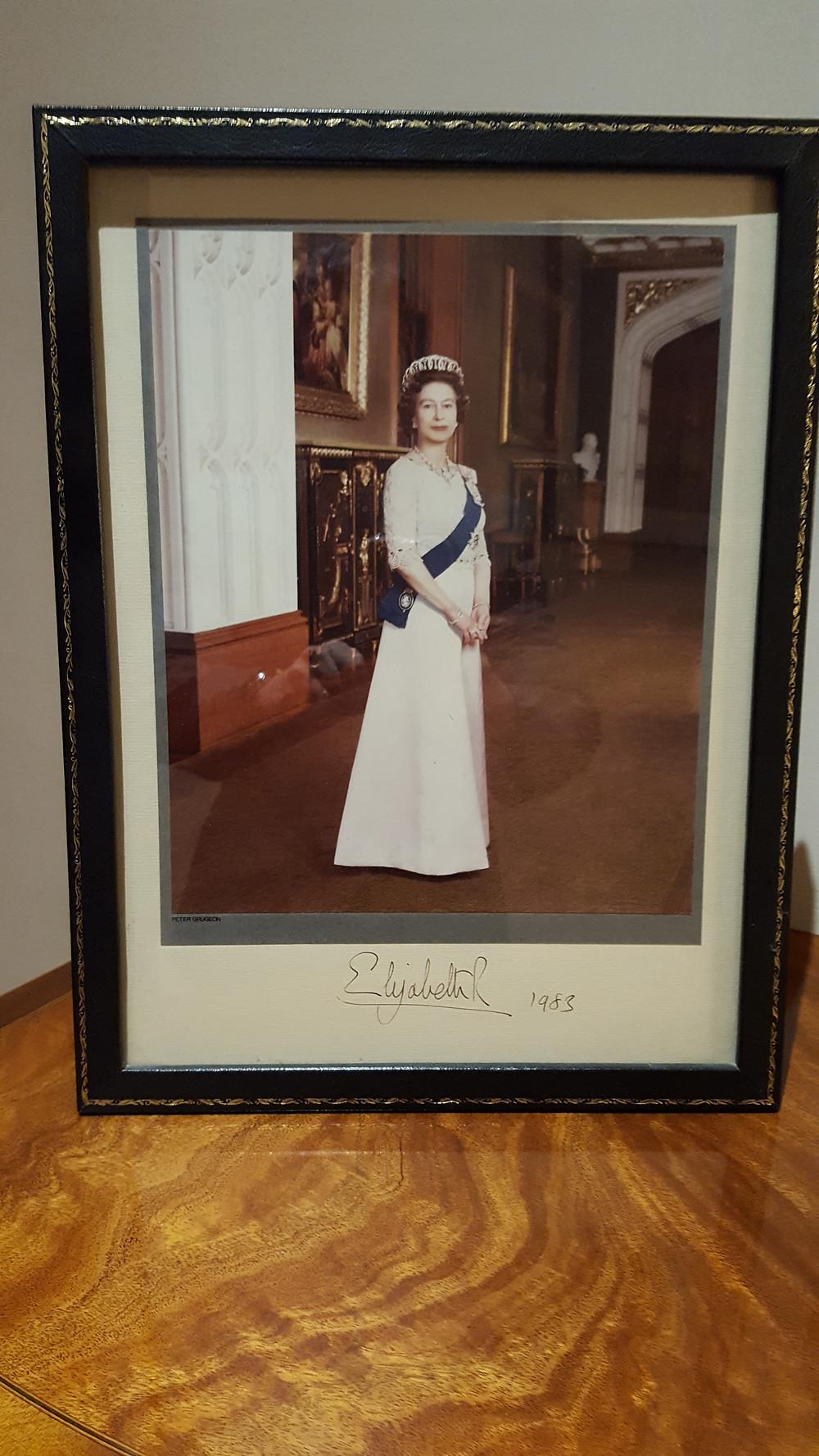Queen of England 1983