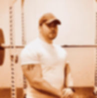 2018-1 Daniel's Weight Meet posing by we