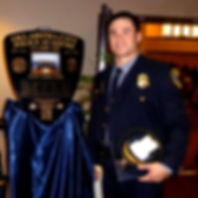 Daniel Holtzclaw at Police Academy Gradu