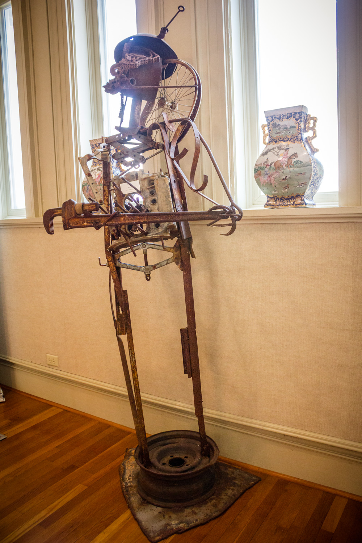 Mr. Joe by Charlie Lucas, Metal Sculpture, Museum Purchase2