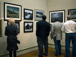 A Reception for the January Exhibit