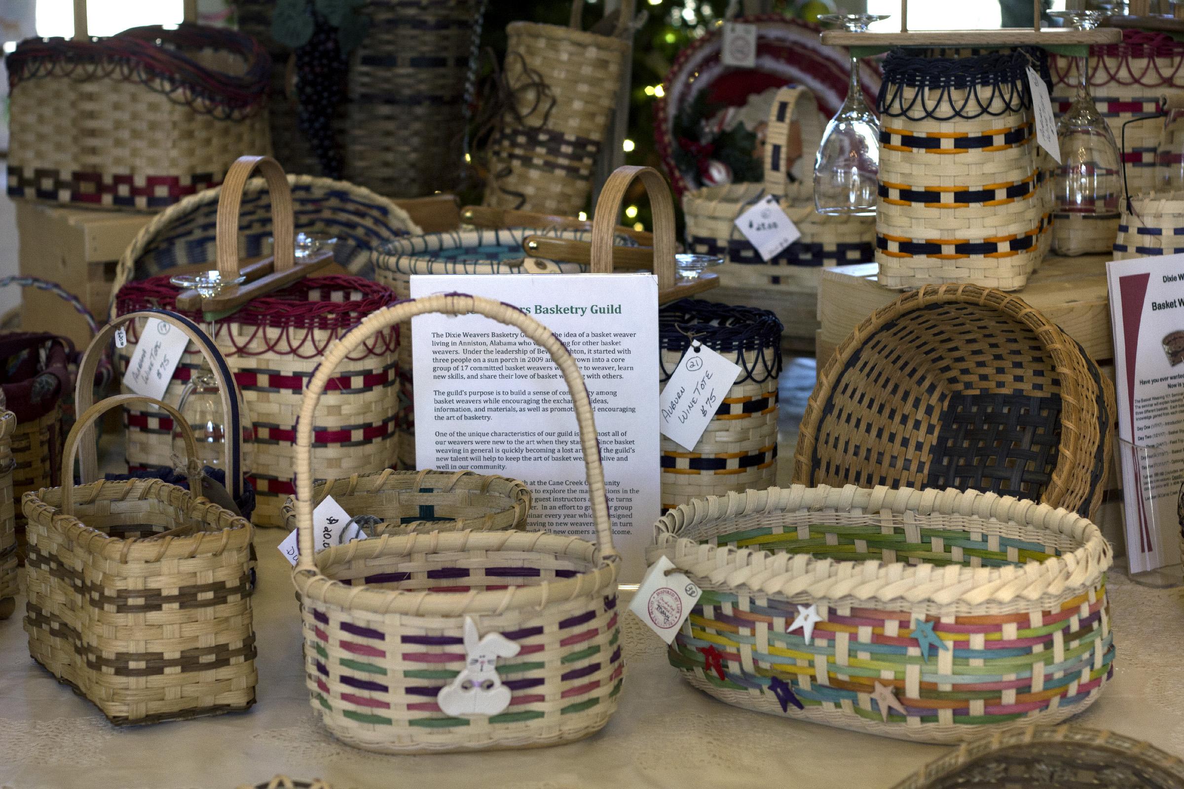 Dixie Weavers Basketry Guild 3-1